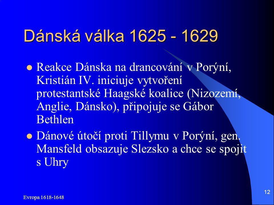 Dánská válka 1625 - 1629