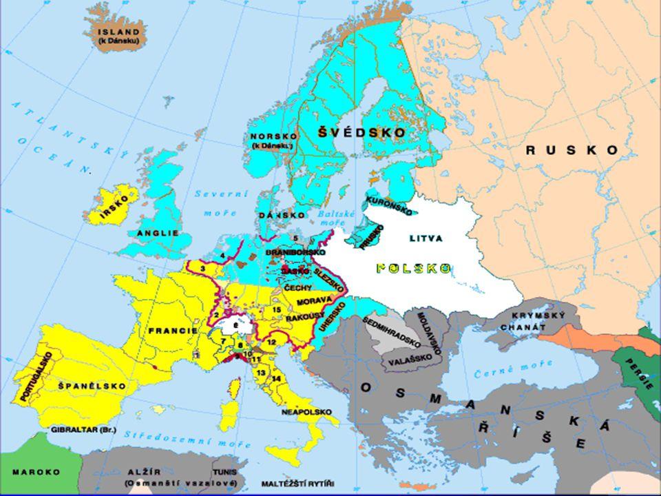 Evropa 1618-1648