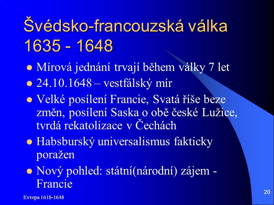 Švédsko-francouzská válka 1635 - 1648