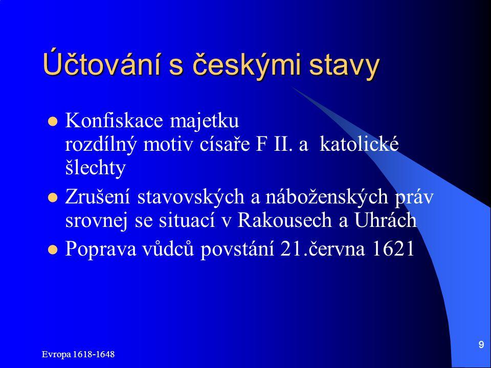 Účtování s českými stavy