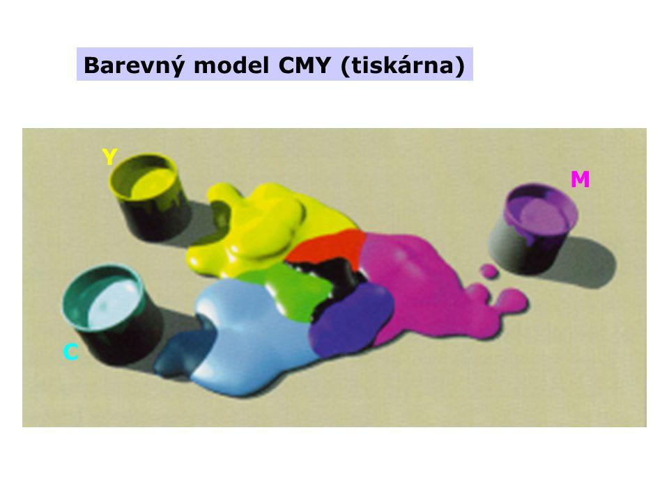 Barevný model CMY (tiskárna)