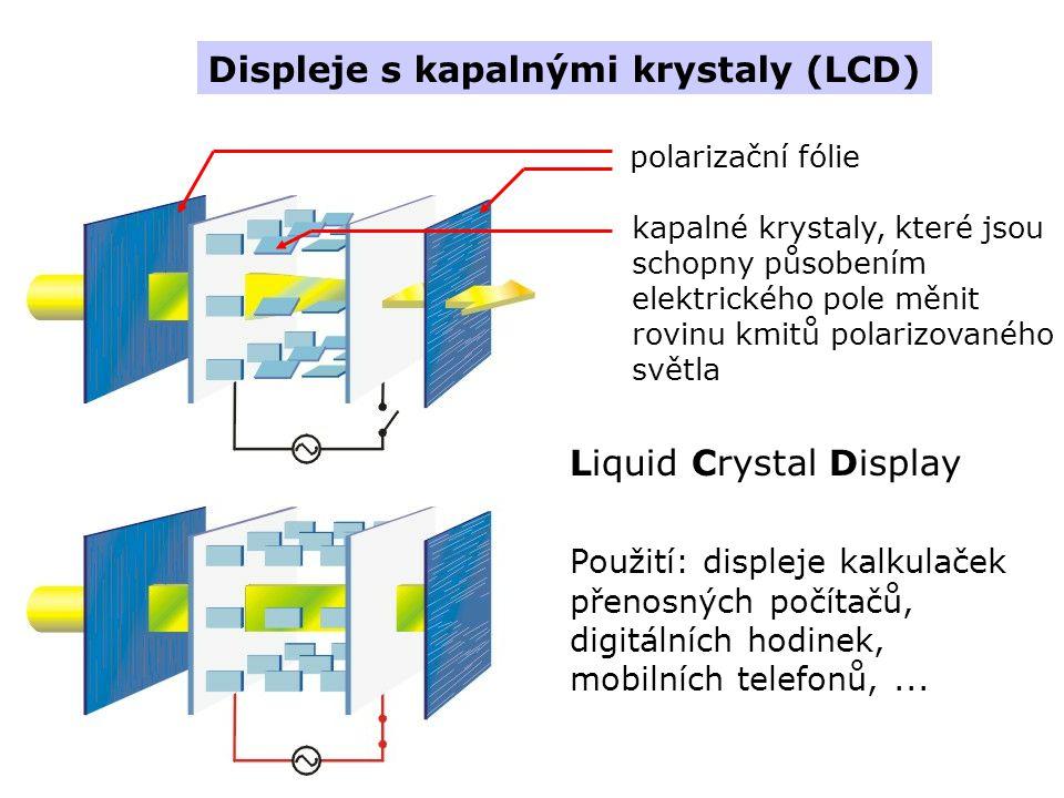 Displeje s kapalnými krystaly (LCD)