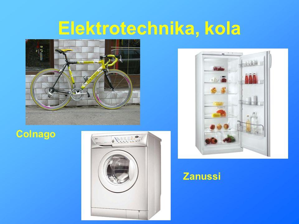 Elektrotechnika, kola Colnago Zanussi
