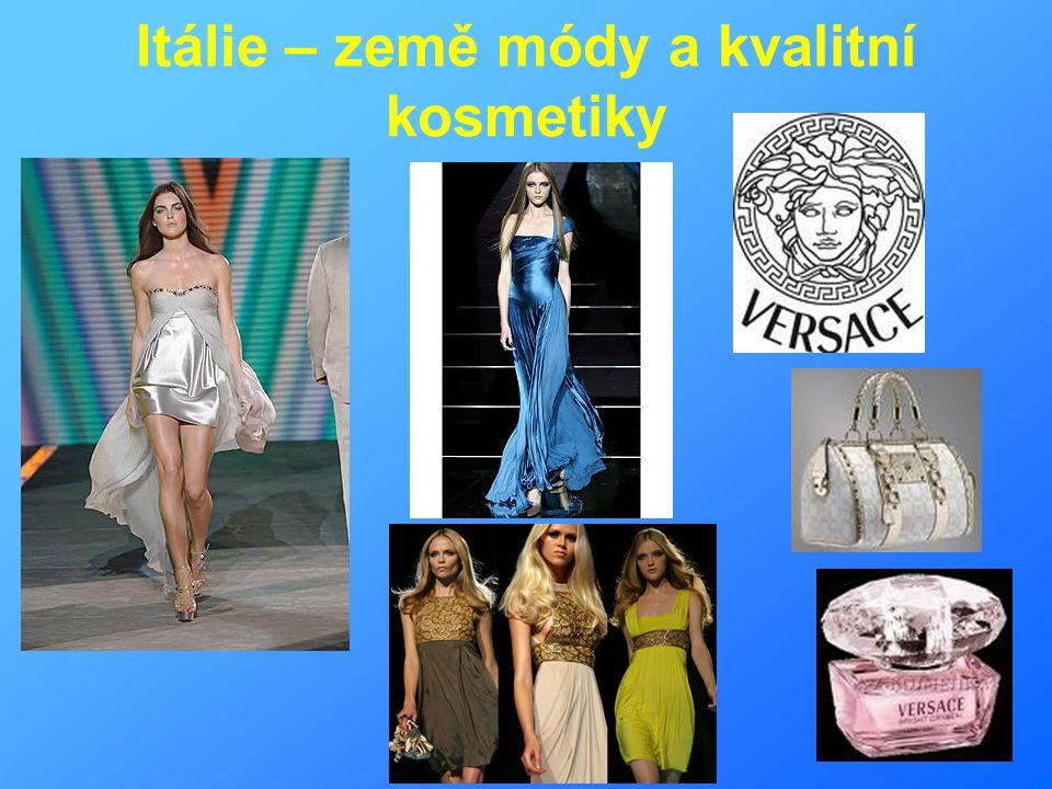 Itálie – země módy a kvalitní kosmetiky