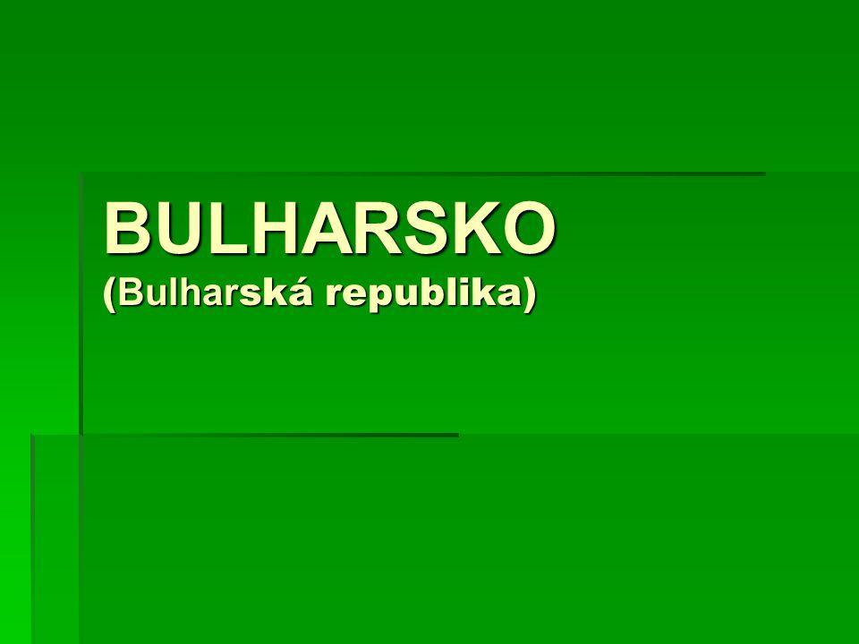 BULHARSKO (Bulharská republika)