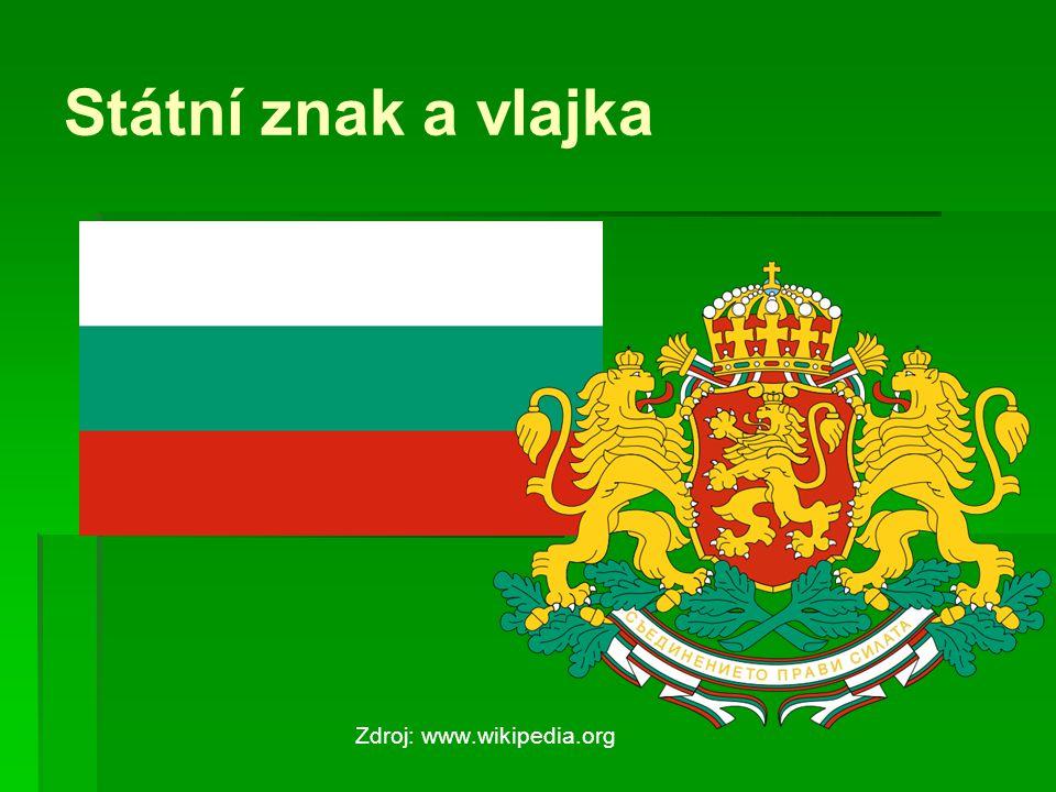 Státní znak a vlajka Zdroj: www.wikipedia.org