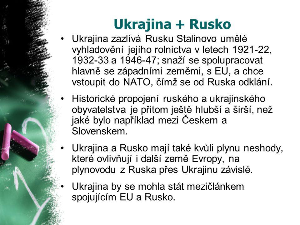Ukrajina + Rusko