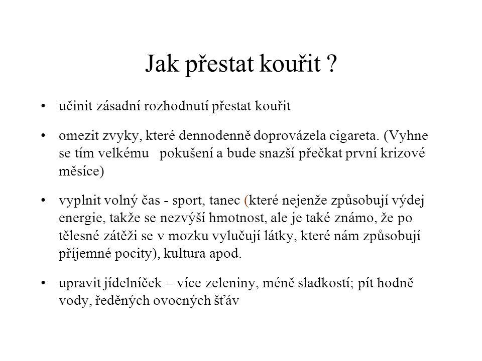 Jak přestat kouřit učinit zásadní rozhodnutí přestat kouřit