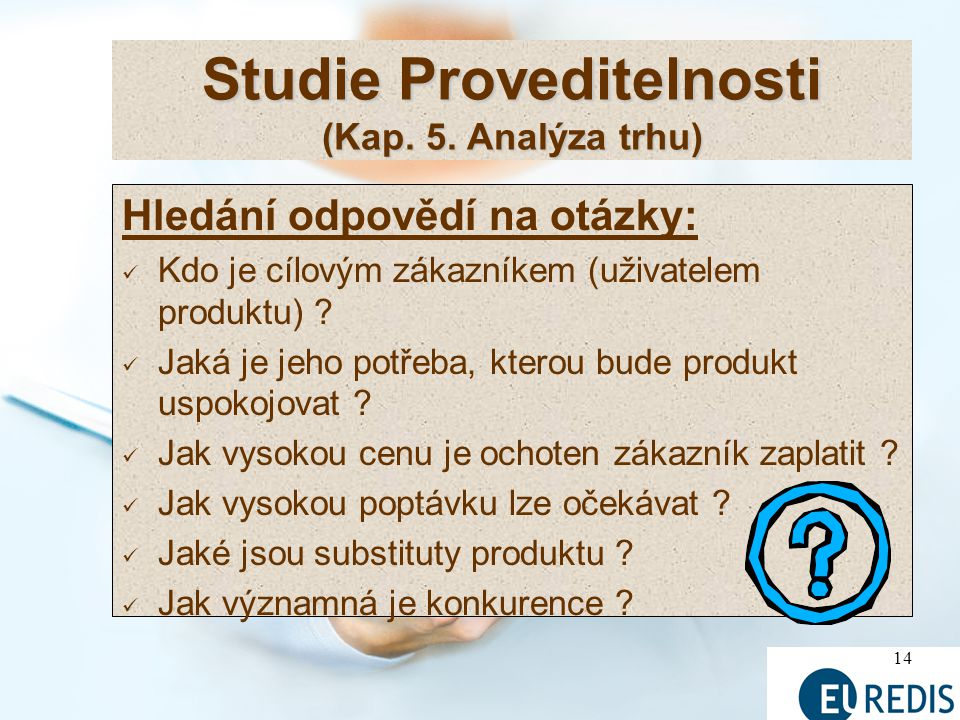 Studie Proveditelnosti (Kap. 5. Analýza trhu)
