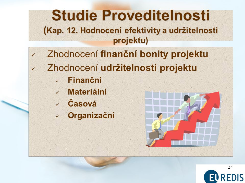 Studie Proveditelnosti (Kap. 12