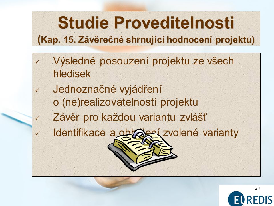 Studie Proveditelnosti (Kap. 15