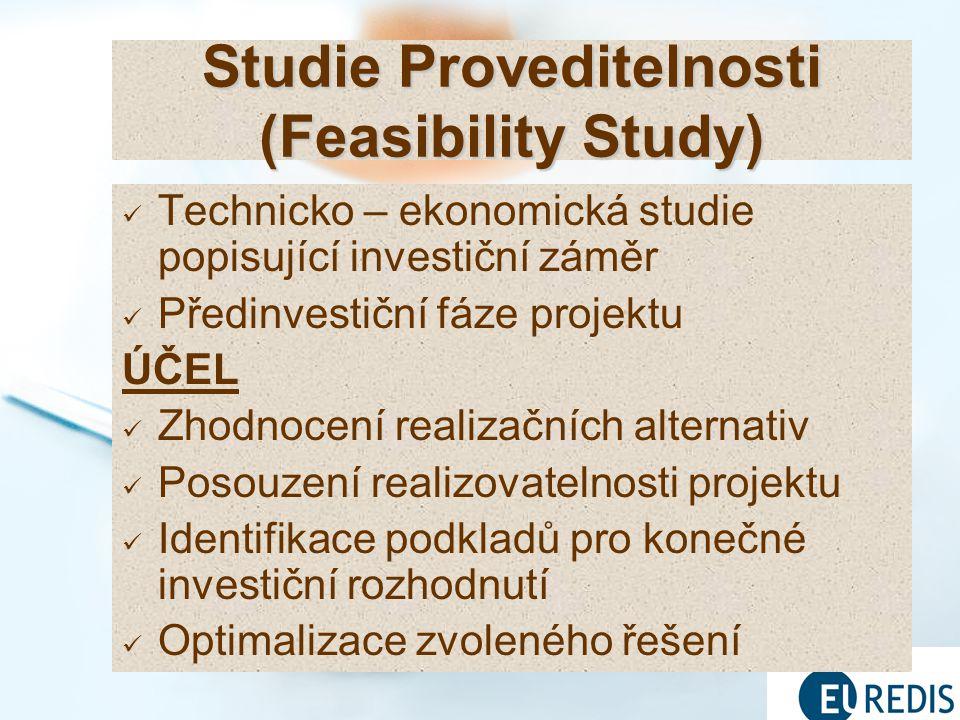 Studie Proveditelnosti (Feasibility Study)
