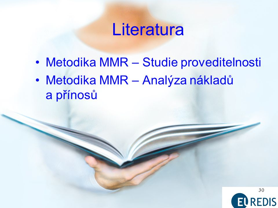 Literatura Metodika MMR – Studie proveditelnosti