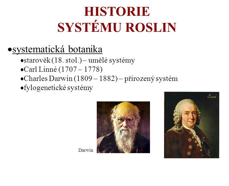 HISTORIE SYSTÉMU ROSLIN