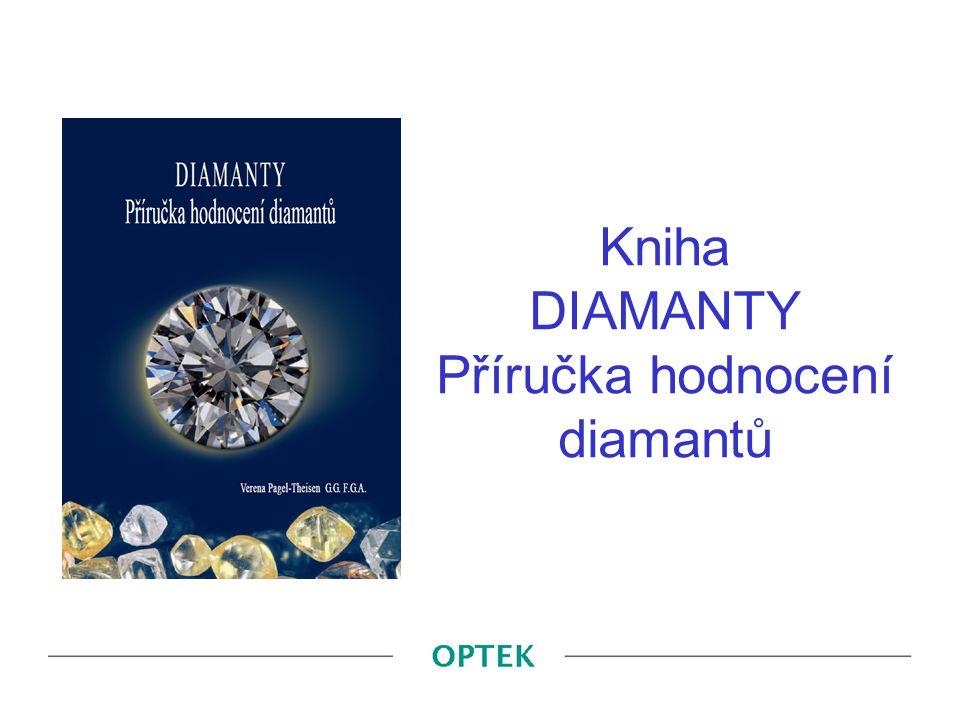 Kniha DIAMANTY Příručka hodnocení diamantů