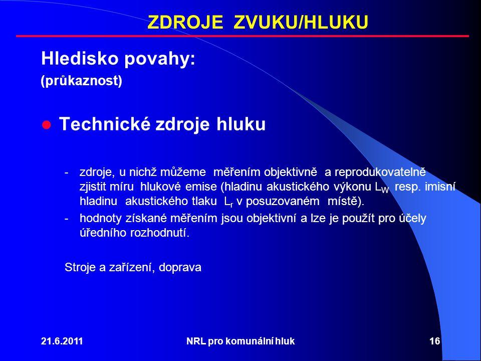 Technické zdroje hluku