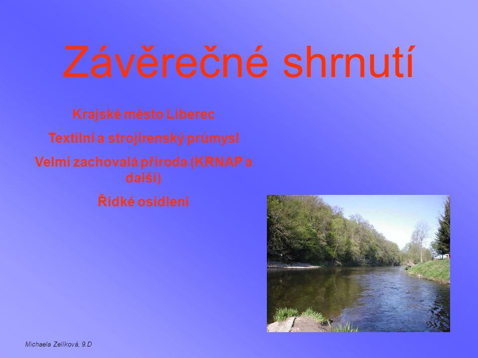 Závěrečné shrnutí Krajské město Liberec