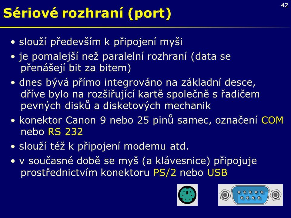 Sériové rozhraní (port)
