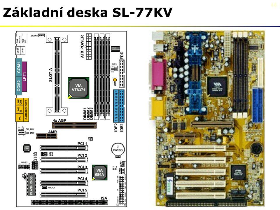Základní deska SL-77KV