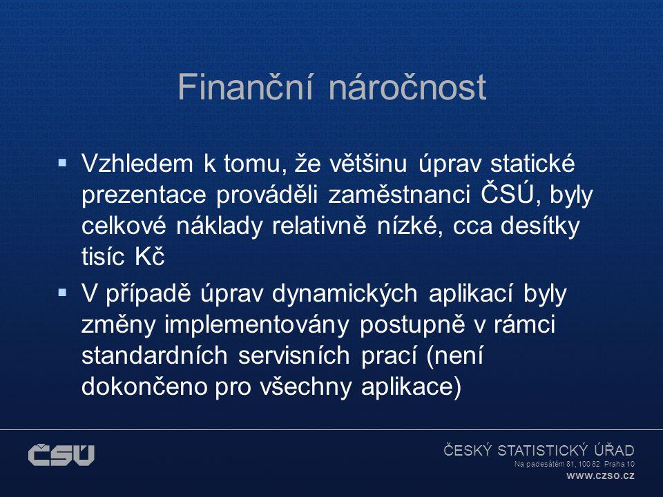 Finanční náročnost