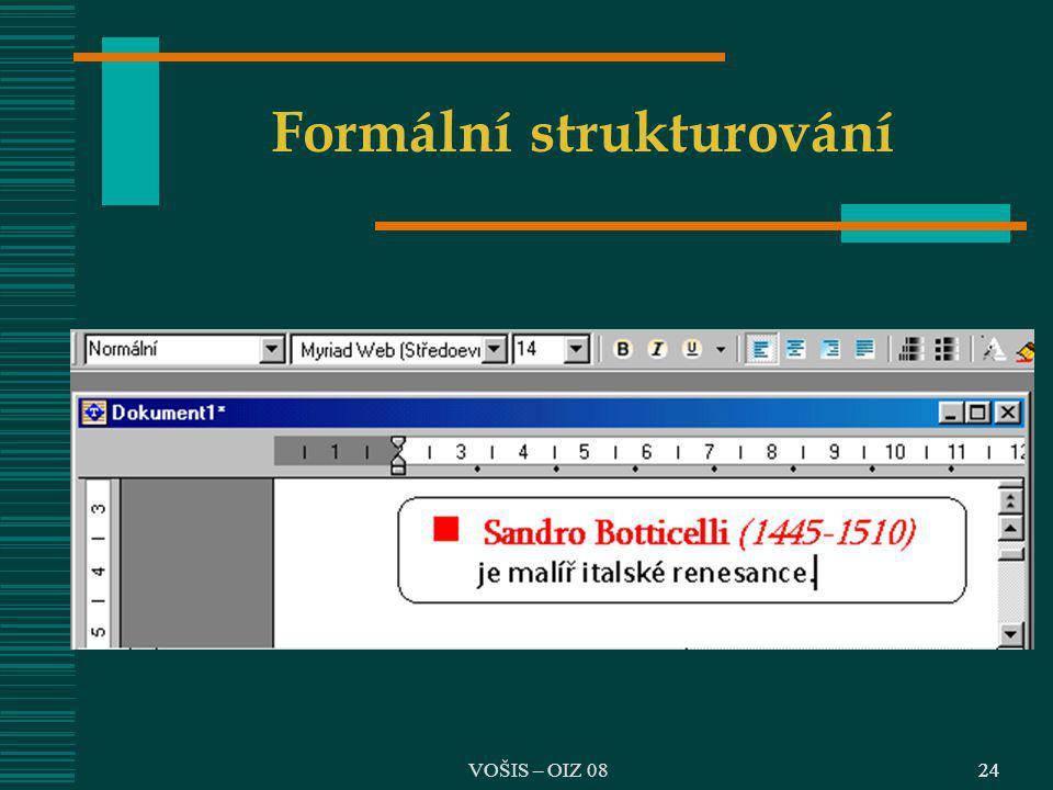 Formální strukturování