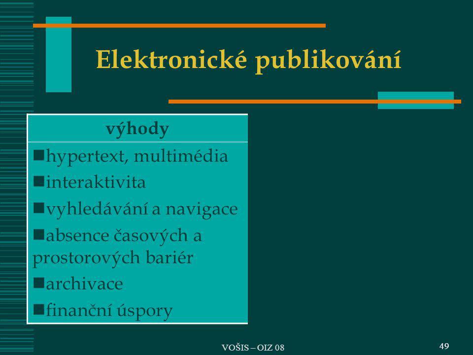 Elektronické publikování