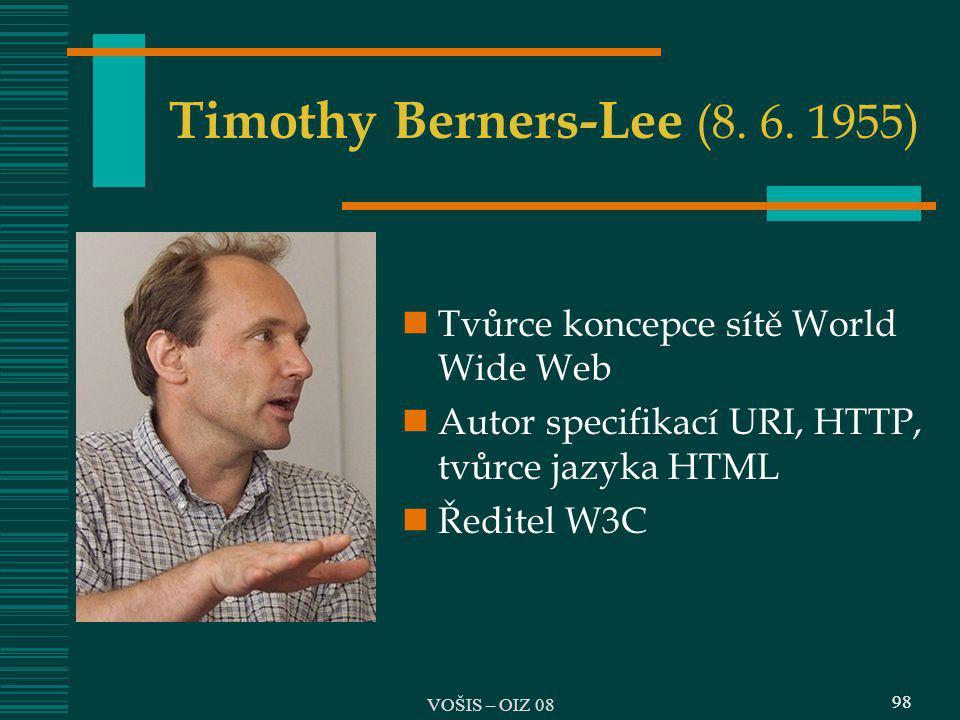 Timothy Berners-Lee (8. 6. 1955)