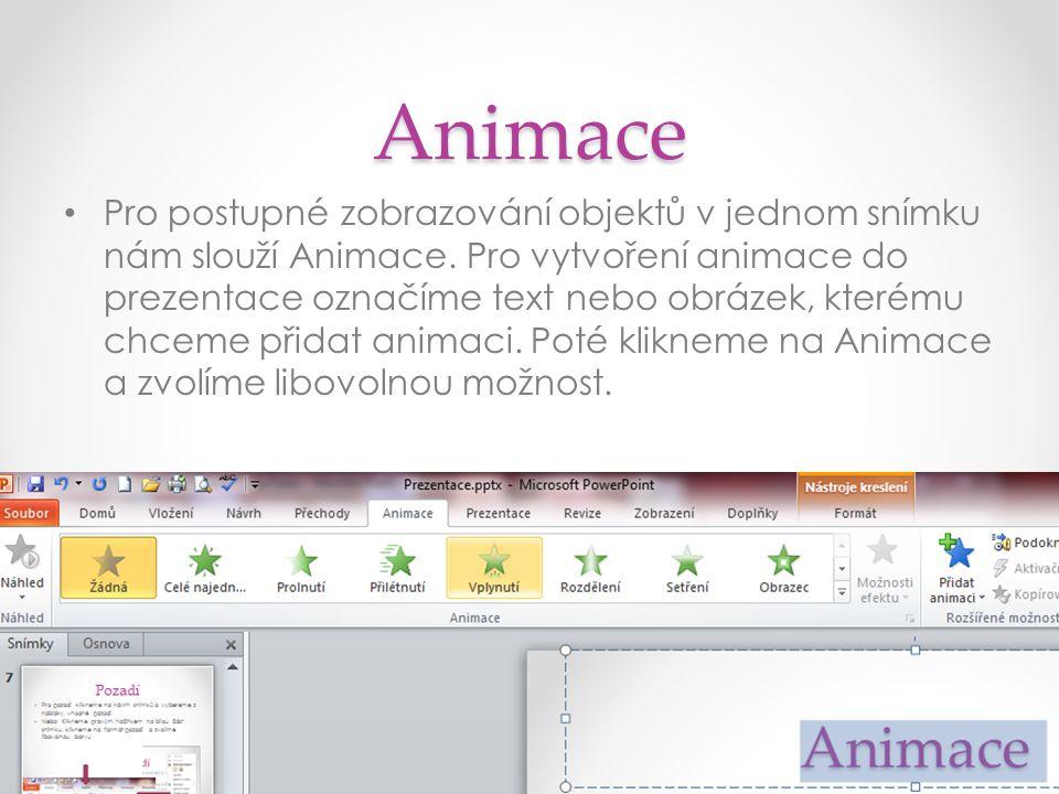 Animace