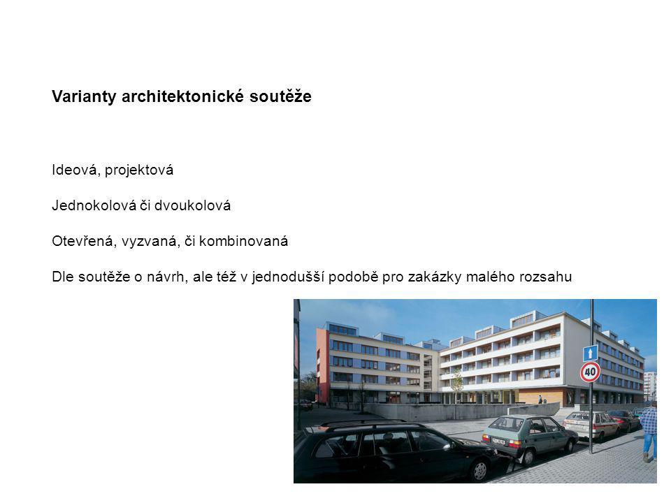 Varianty architektonické soutěže