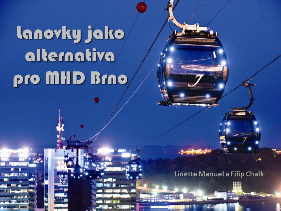 Lanovky jako alternativa pro MHD Brno