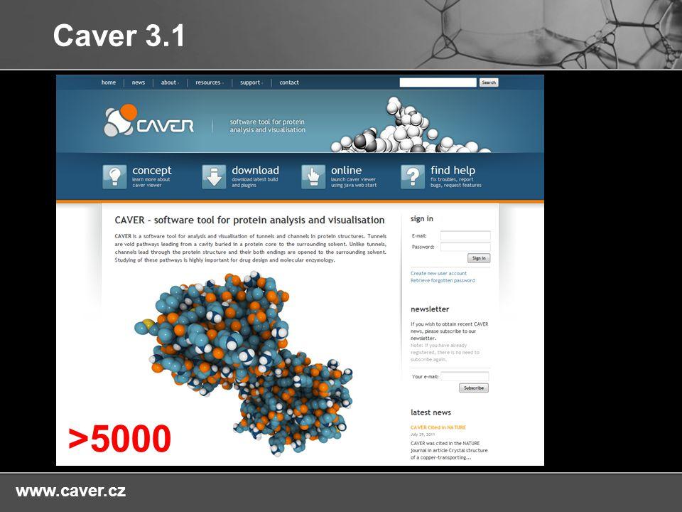 Caver 3.1 >5000 www.caver.cz