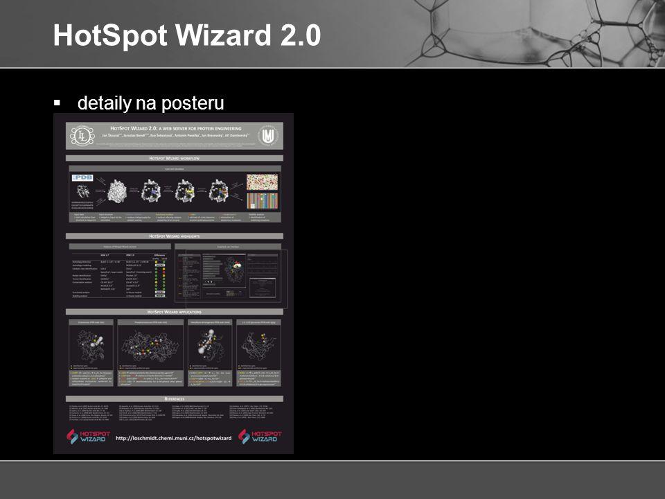 HotSpot Wizard 2.0 detaily na posteru
