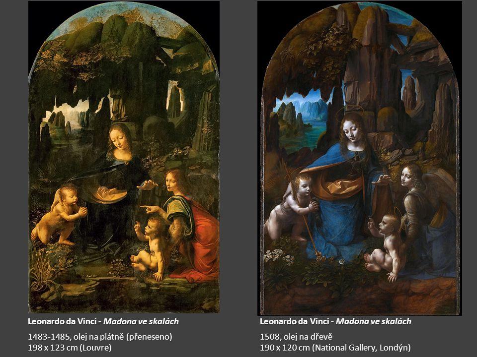 Leonardo da Vinci - Madona ve skalách