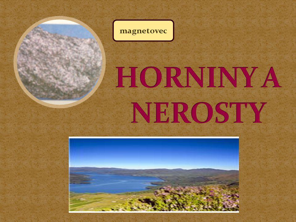 magnetovec HORNINY A NEROSTY