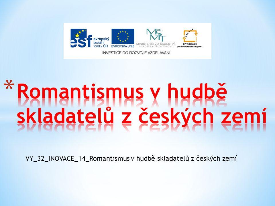 Romantismus v hudbě skladatelů z českých zemí