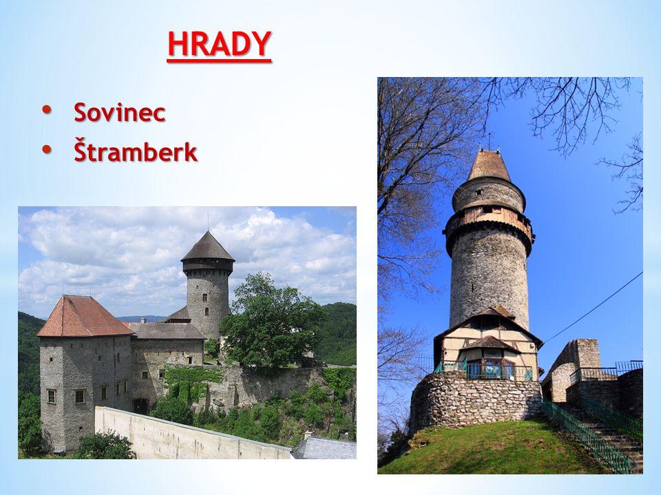 HRADY Sovinec Štramberk