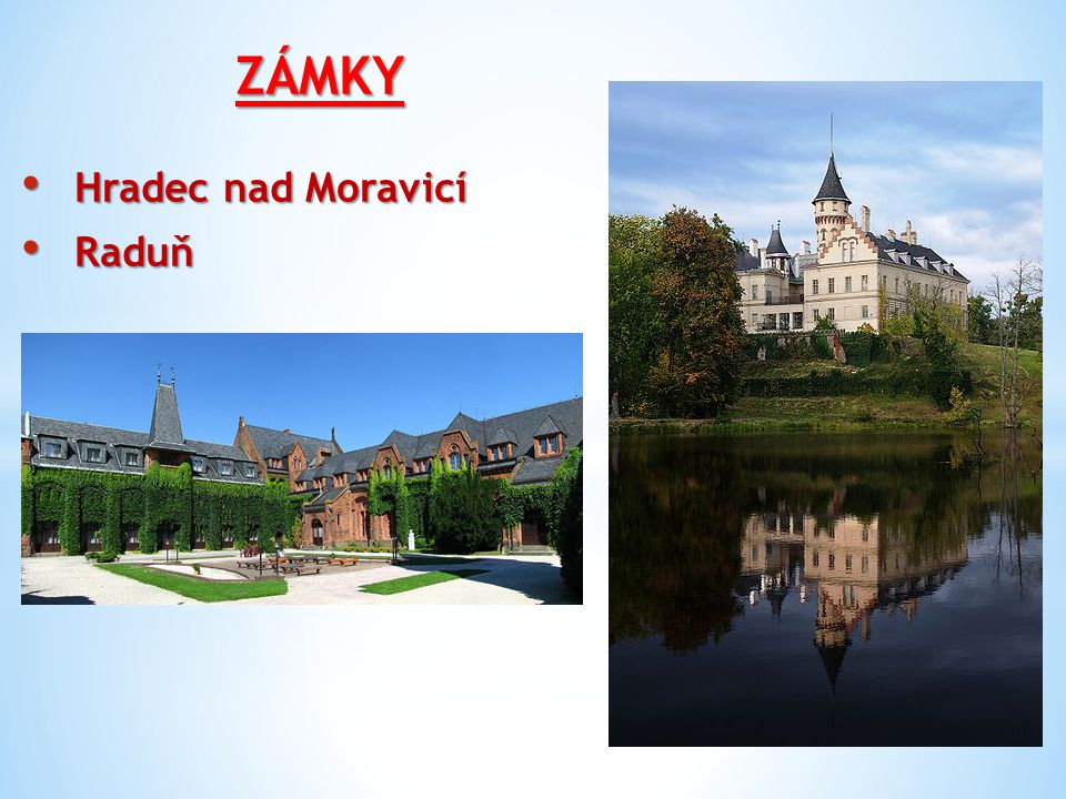 ZÁMKY Hradec nad Moravicí Raduň