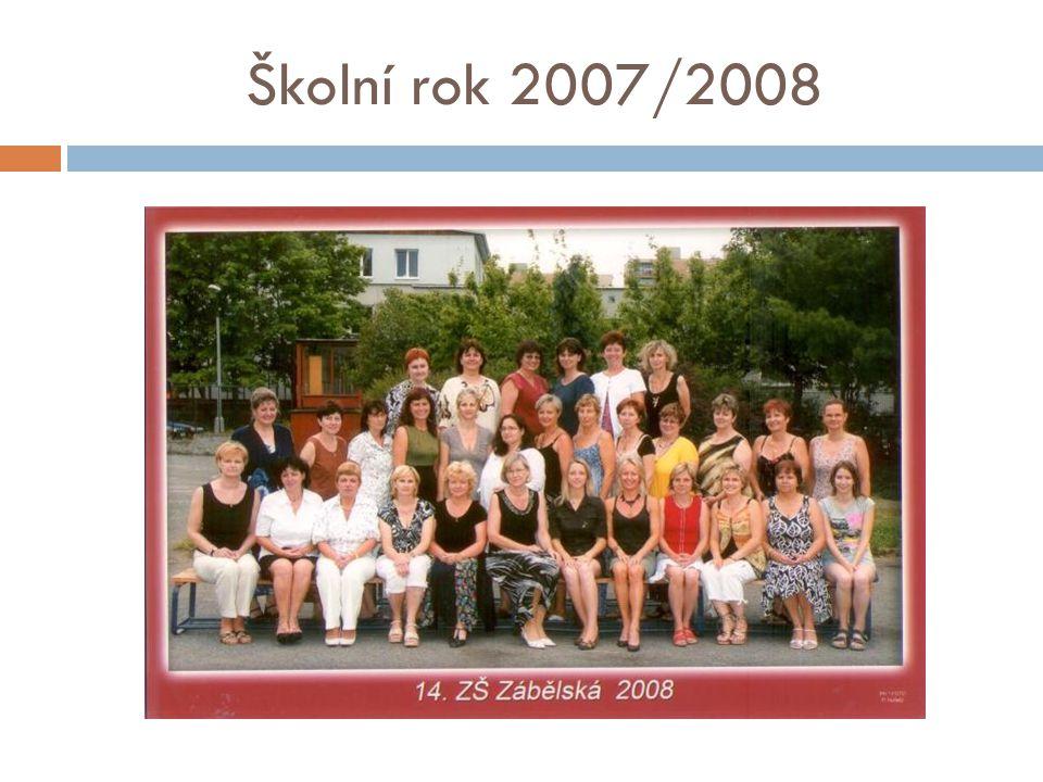 Školní rok 2007/2008