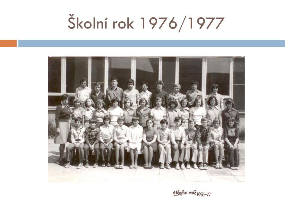 Školní rok 1976/1977