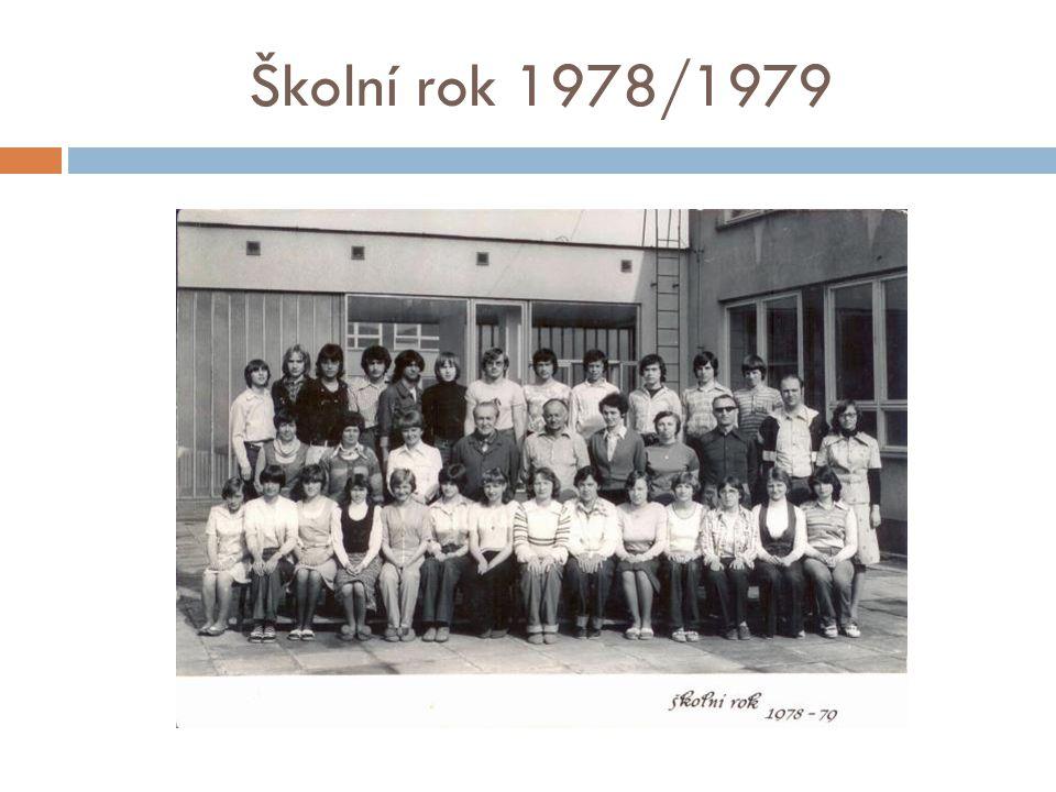 Školní rok 1978/1979