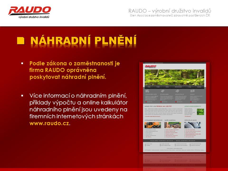 RAUDO – výrobní družstvo invalidů