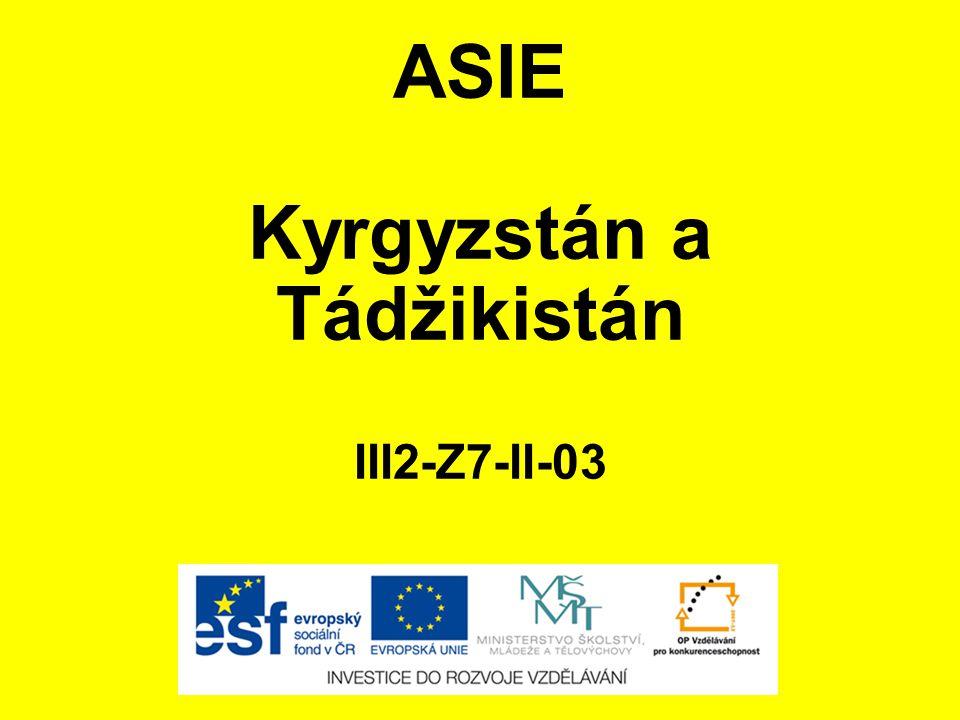 Kyrgyzstán a Tádžikistán