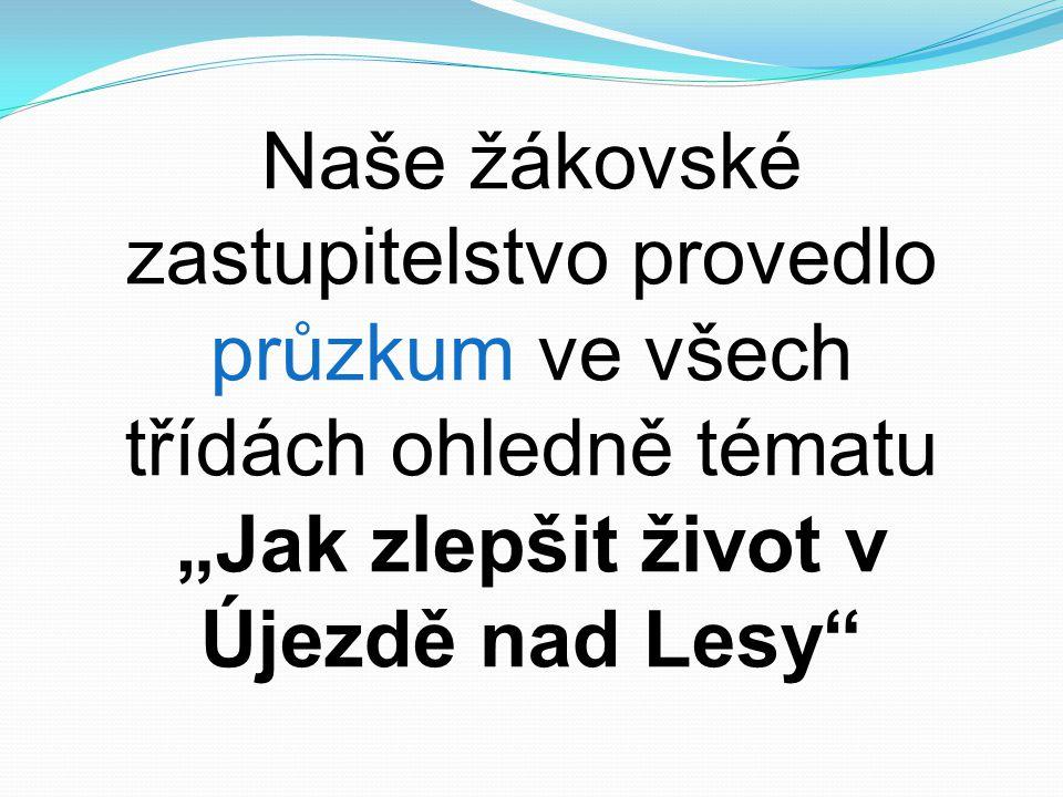 """""""Jak zlepšit život v Újezdě nad Lesy"""