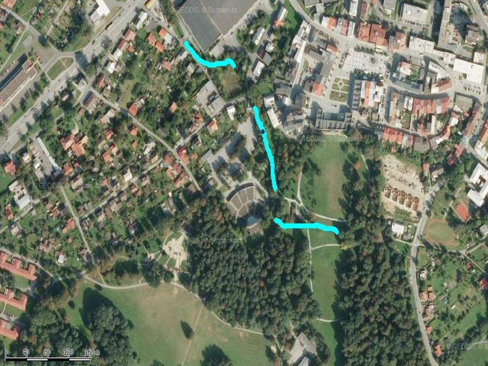Stanoviště v parku Boženy Němcové