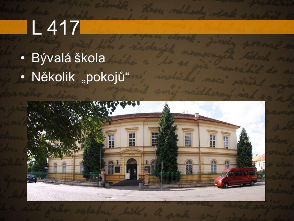 """L 417 Bývalá škola Několik """"pokojů"""