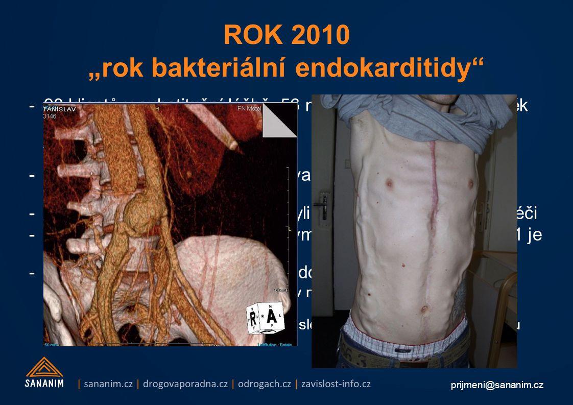 """ROK 2010 """"rok bakteriální endokarditidy"""