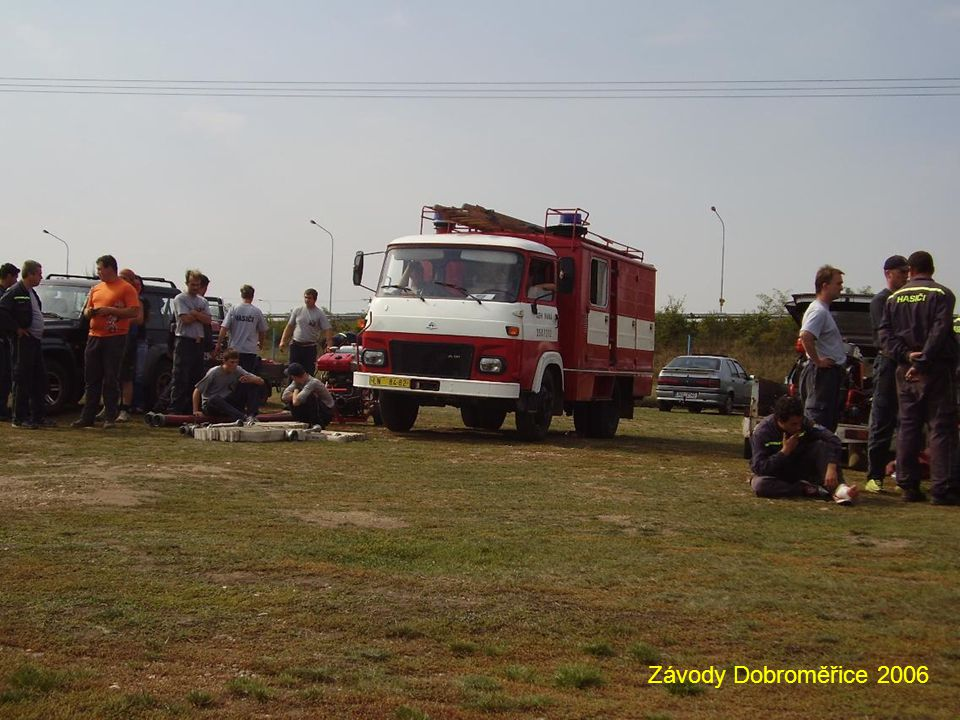 Závody Dobroměřice 2006