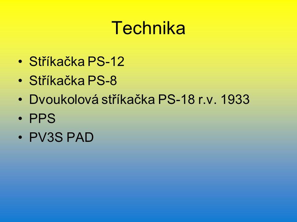 Technika Stříkačka PS-12 Stříkačka PS-8