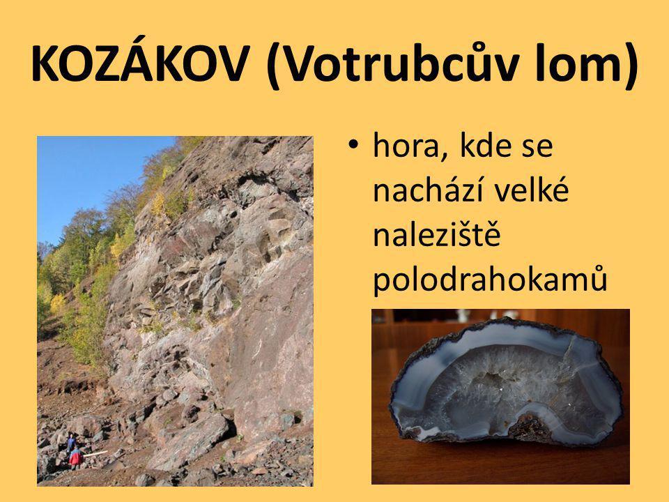 KOZÁKOV (Votrubcův lom)