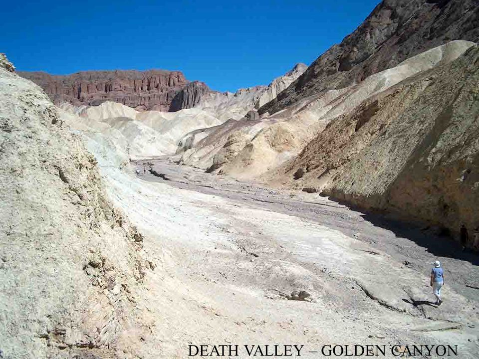DEATH VALLEY – GOLDEN CANYON